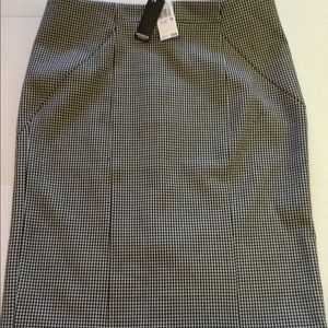Premise Studio houndstooth skirt